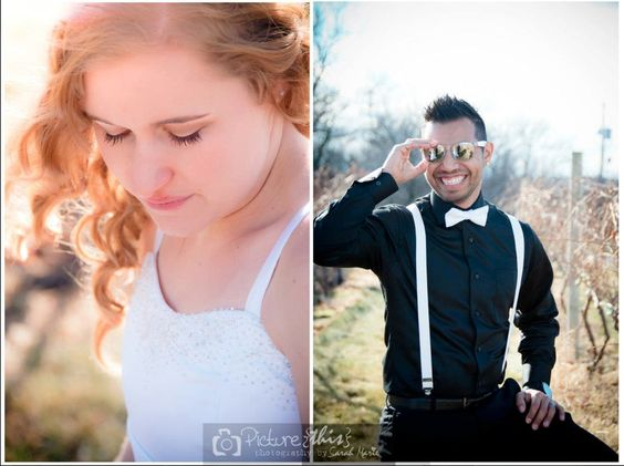 showing the personality of the bride and groom