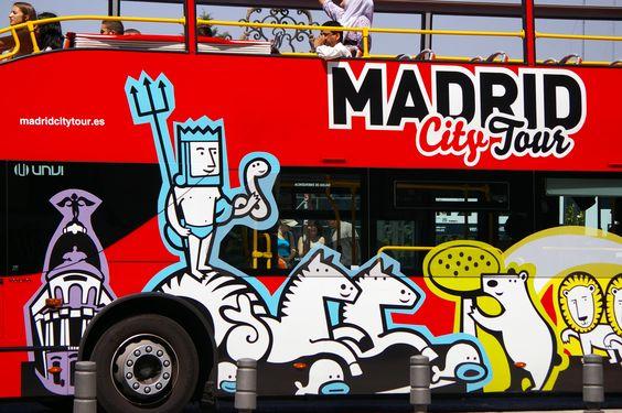 Madrid in España  Urlaub 2012