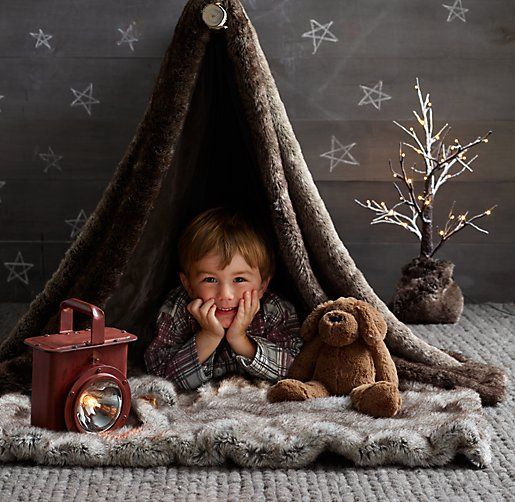 Camps, Indoor And Faux Fur On Pinterest