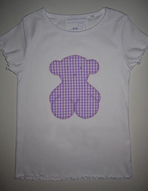 cocodrilova: camiseta osito #camiseta #tous