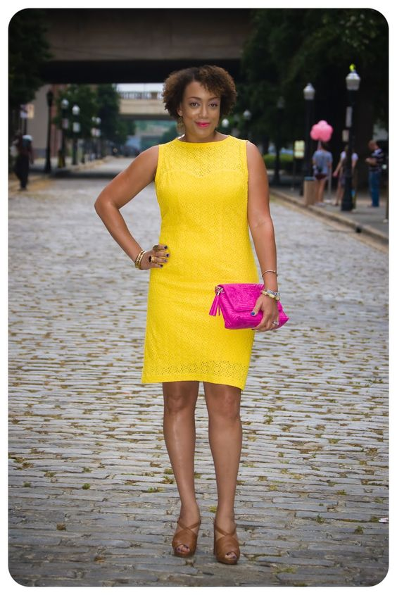 Erica B.'s - D.I.Y. Style!: McCall's 6460 | They Call it Mellow Yellow!