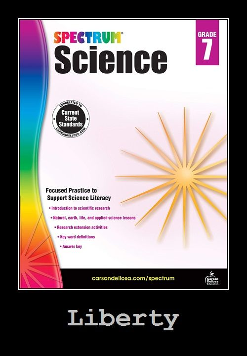Carson Dellosa Spectrum Science Focused Practice To Support Science Writing Workbook Word Definitions