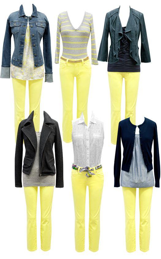 can't believe i'm considering lemon yellow capri's for