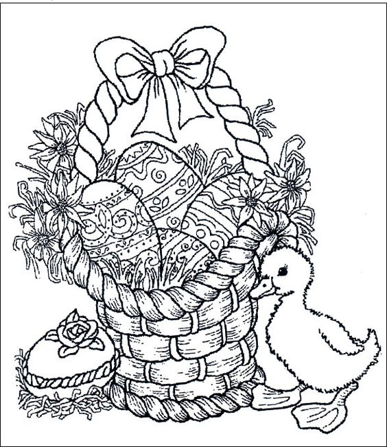easter_181 Easter coloring pages: