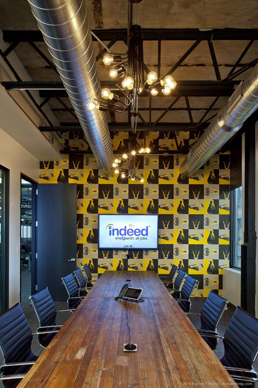 The strikingly unusual and bright 42000 square feet Boston office