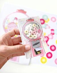 DIY-Mini-Kaugummiautomat aus Streichholzschachteln