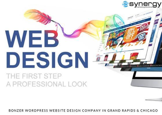 Bonzer Wordpress Website Design Company In Grand Rapids Chicago Website Design Company Wordpress Website Design Website Design Services