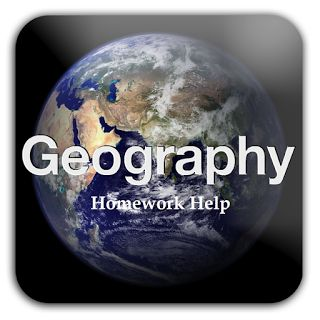 Help with geography homework