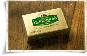 Sure, it costs a little more than generic butter, and a LOT more than margarine, but since we can get it at our local Costco, Kerrygold butter is worth its weight in...well, something extremely valuable.  =)  We cook our dogs' chicken nightly in this beautiful stuff, and use about a whole quarter every single day. They go crazy for this stuff, and it gives them a ton of nutrition! Win-win-win!