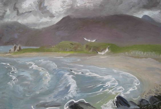 The Island of Canna - Winifred Nicholson