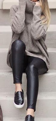 Grey Sweater 44 Outfit Ideas to Copy - Style Spacez