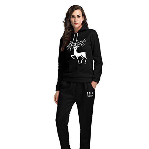 sito affidabile design di qualità scarpe esclusive YiLianDa Donne Tuta da Ginnastica Manica Lunga Jogging Pantaloni ...
