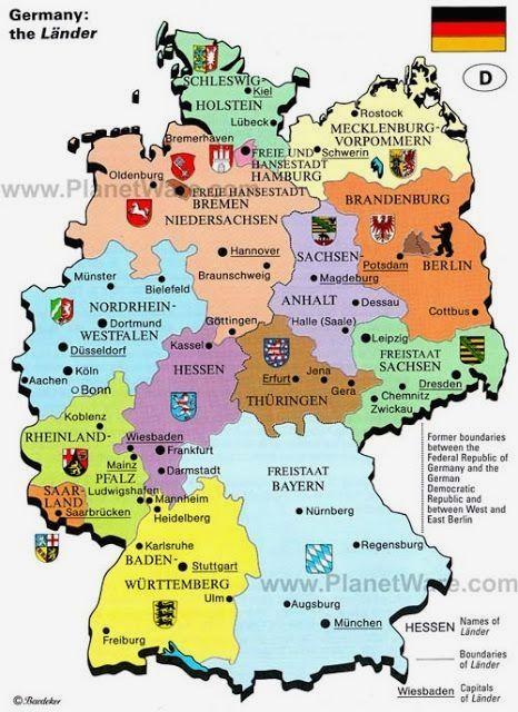 Pin Af Knud Pa Germany Deutschland Rejser Europa Rejser Tyskland
