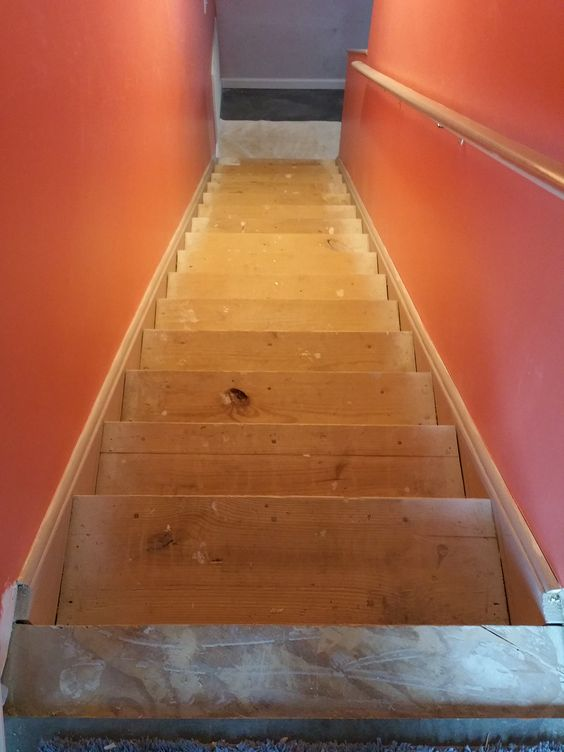 Best The Stairs After I Stripped Off The Indoor Outdoor Carpet 400 x 300