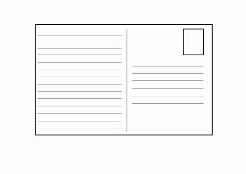 Postcard Template For Kids Beautiful Blank Postcard Template By 4877jessie Teaching Resources Printable Postcards Postcard Template Postcard Template Free