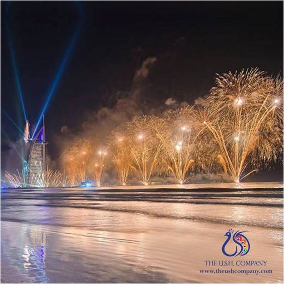 #UAE's #NewYear fireworks are spectacular! How was your #NewYear?