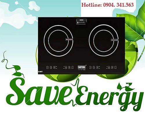 Bếp từ Giovani G 282T dùng có tốn điện không