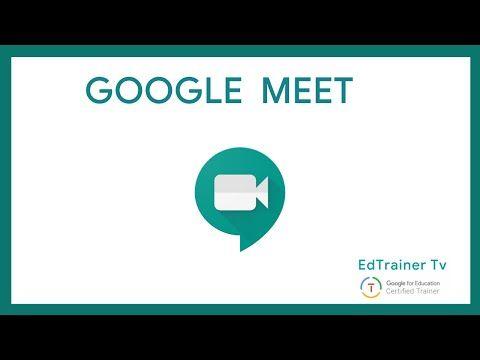 Manual Completo Y Gratuito Para El Uso De La Plataforma Google Meet Y El Formulario Aplicaciones Para Educacion Informatica Y Computacion Aprender Informatica