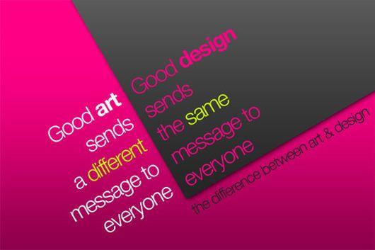 Diseño vs Arte