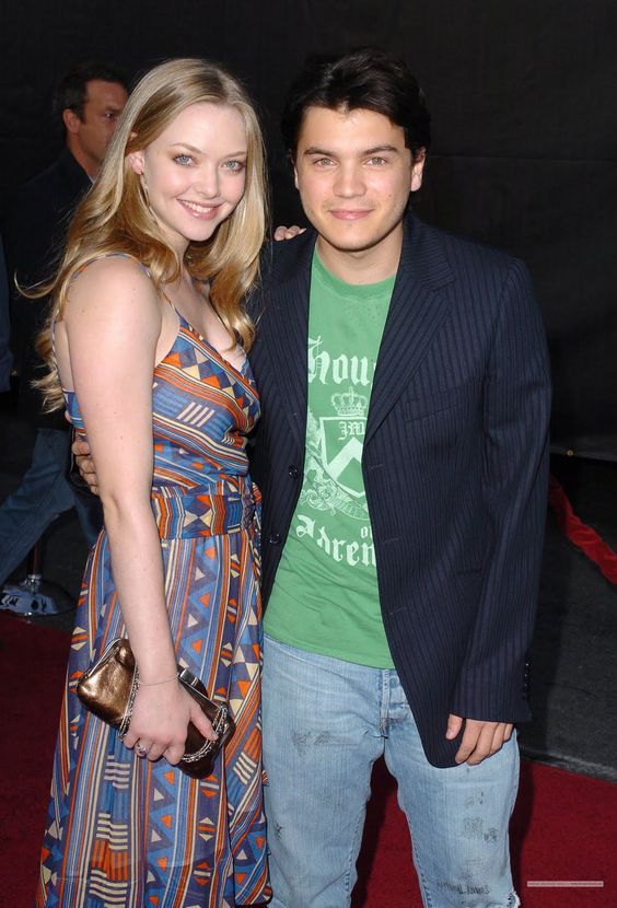 Amanda Sefried with Emile Hirsch