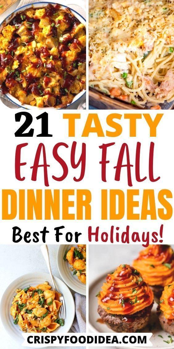 Fall Dinner Recipes