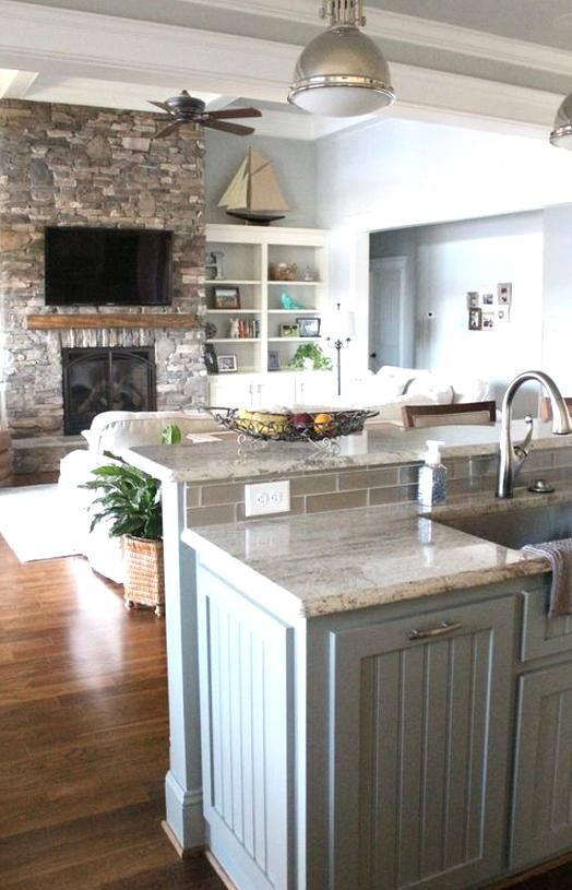 Fresh Open Concept Kitchen Living Room Layout Islands White Cabs Open Floor Plan Kitchen Concepts Open Concept Kitchen Living Room Layout Kitchen Remodel Small