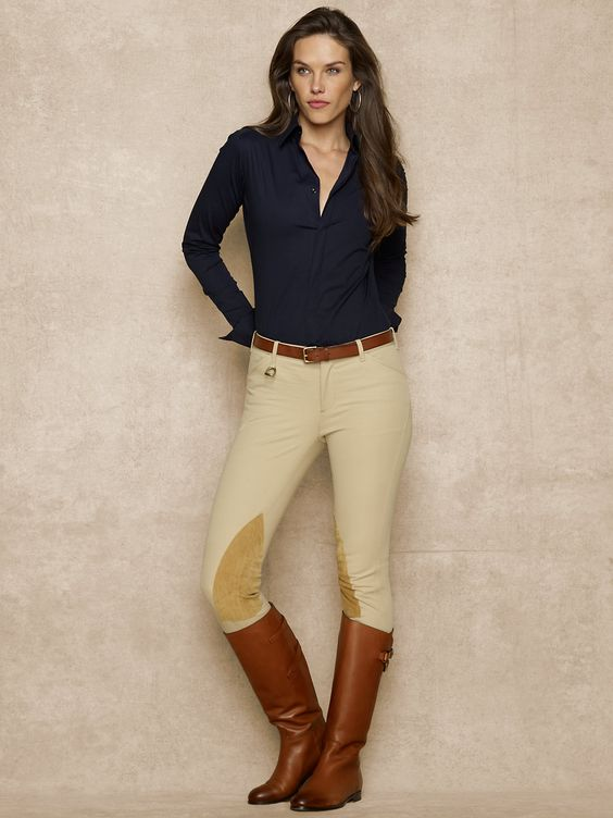 Palermo Hudson Jodhpur - Pants \u0026amp; Shorts Women - RalphLauren.com