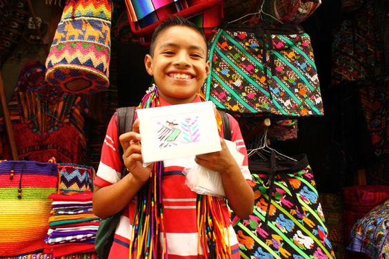 The Cositas Greeting Cards are handmade in Santa Catarina, Guatemala on Lake Atitlan. Each card has a unique color and traditional Mayan stitch. Using customary designs such as butterflies, plants, and birds  these greeting cards uniquely represent the Mayan culture. Each pack will come with a variety of Traditional Mayan Designs. Design: Traditional Mayan Figures Blank [...]
