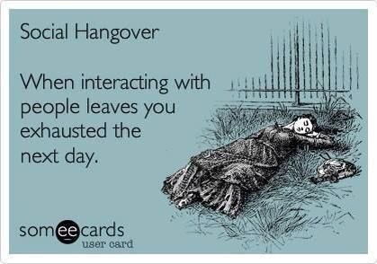 Social Hangover...Capricorn problems