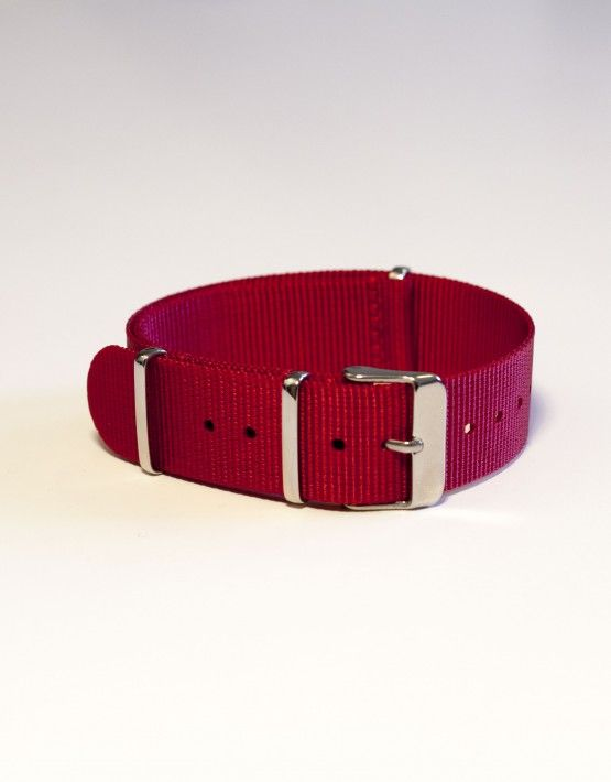 Red Nato Watch Strap | The Strapster