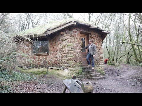 Living Off Grid In The Woods House Tour And Morning Chores