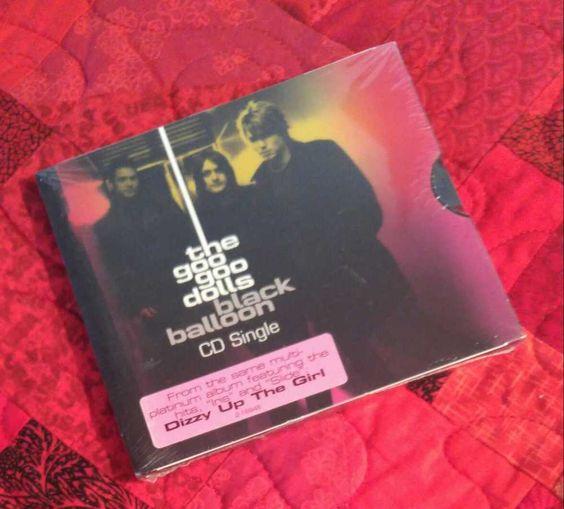 Goo Goo Dolls CD Single Black Balloon U S Promo 1999 New Slide Live Version #HardRock