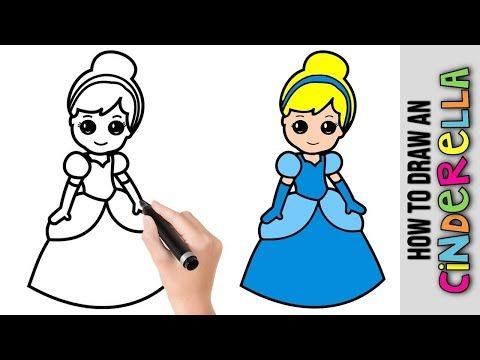 رسومات سهله وجميله تعليم رسم سندريلا خطوة بخطوة رسم سهل رسم بنات سهل وكيوت Youtube Vault Boy Character Art