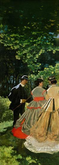 Claude Monet - Dejeuner sur L'Herbe, Chailly