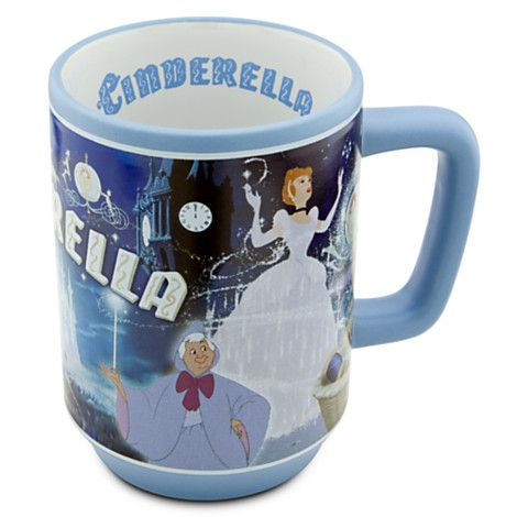 Cinderella Mug | Drinkware | Disney Store | disney ...