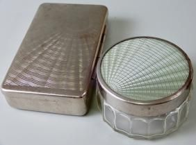 Silver-plated boxes