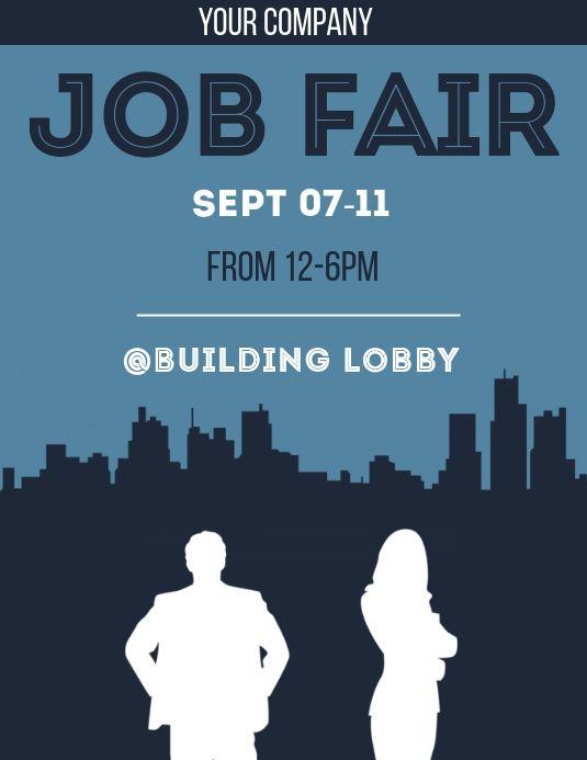 We Re Hiring Sample Flyer Design Template Job Fair Flyer Template Hiring Poster