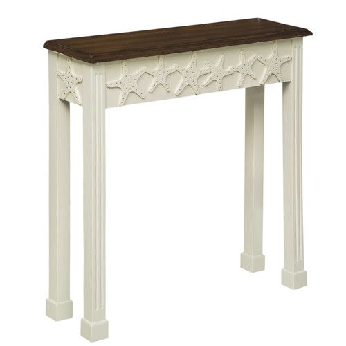 Found it at Wayfair - Embossed Starfish Console Table
