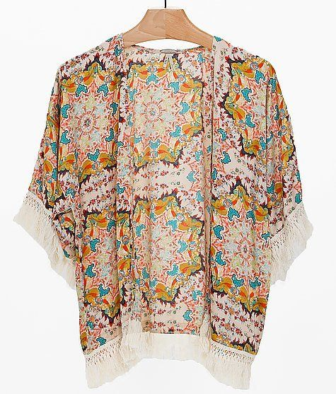 Gimmicks By BKE Printed Cardigan