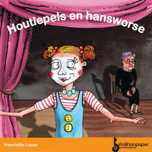 """Houtlepels en Hansworse"" - an Afrikaans children's audio book I produced.      Cover by Unrouxly."