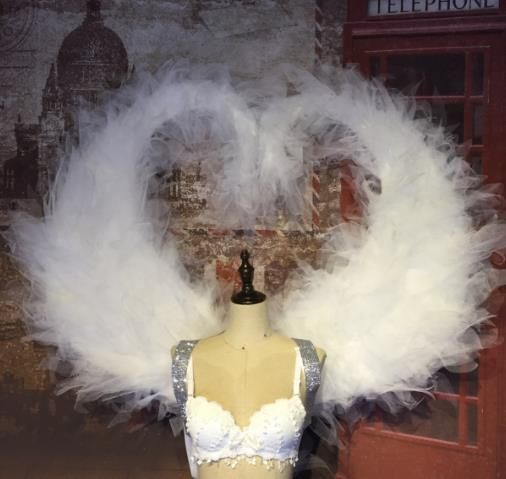 Model Feather Butterfly Dance Costumes Popular Ostrich Feathers Fancy Costume Stage Drama Costumes Angel Wings Pa Fancy Costumes Dance Costumes Ballet Costumes