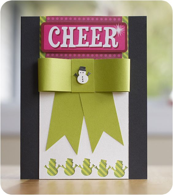 Cheer Holidazzle Mini Snowman Pocket Punch Project Idea from Creative Memories