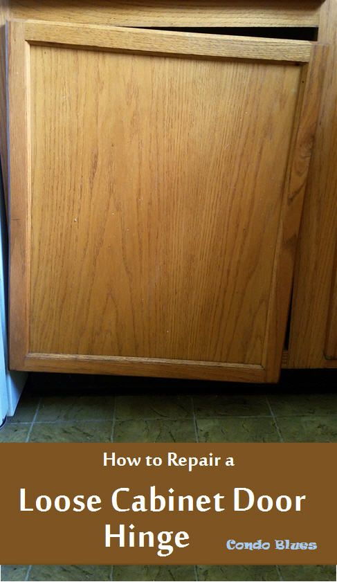 Groovy How To Repair A Loose Cabinet Door Hinge Tutorials From Download Free Architecture Designs Scobabritishbridgeorg