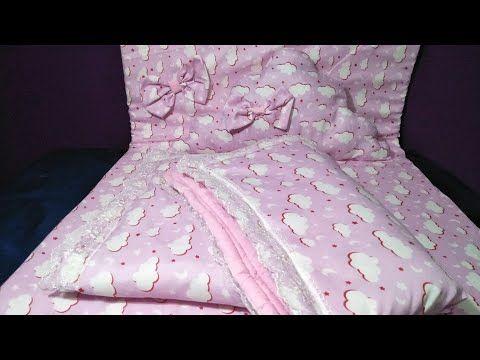 اروع طريقة لخياطة لحاف وكوات ومخدة لي بيبي 2019 Coudre Couette Pour Bebe Youtube Toddler Bed Baby Car Seats Bed