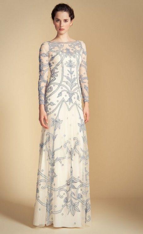 Long Francine Tattoo Dress