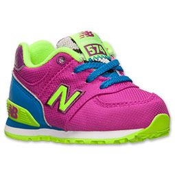 <p>No child's sneaker collection is complete without a classic retro-style designed to last through the changing seasons.  The Toddler New Balance 574 has a clean and classic look with a traditional suede upper and simplistic design made to withstand the playground and beyond. </p><p>   Not only does the 574 do a great job keeping little feet cool and comfortable, but this shoe also offers unmatched quality and style.   Featuring a lightweight upper and incredibly soft foam midsole, the 574…