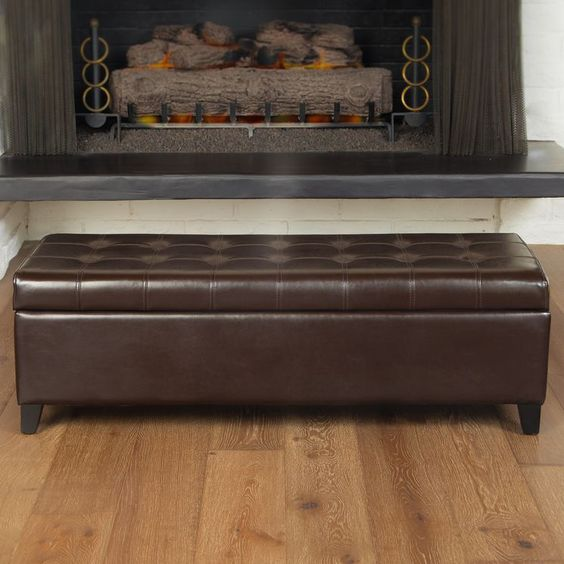 storage ottoman bench tufted storage and more storage ottoman bench ...