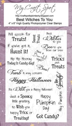 Halloween sentiments - Google Search