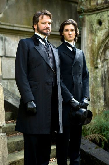 Colin Firth and Ben Barnes in Dorian Gray: this movie represents the absolute perfection in English costume sartorial tradition. Amazing! Costume design by Ruth Myers
