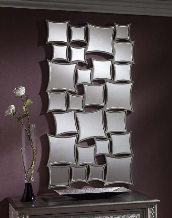 Espejos modernos de resina modelo bratislava decoracion - Decoracion de espejos ...